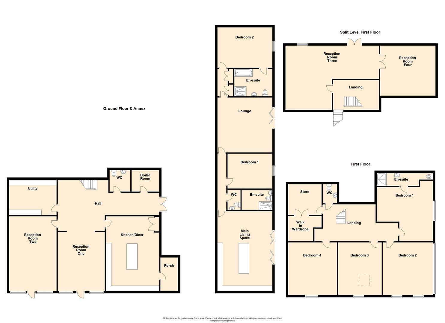 6 Bedroom Barn Conversion For Sale - The Barn, New Laund Farm, Fence.jpg